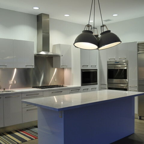 Marina Del Rey Penthouse Kitchen