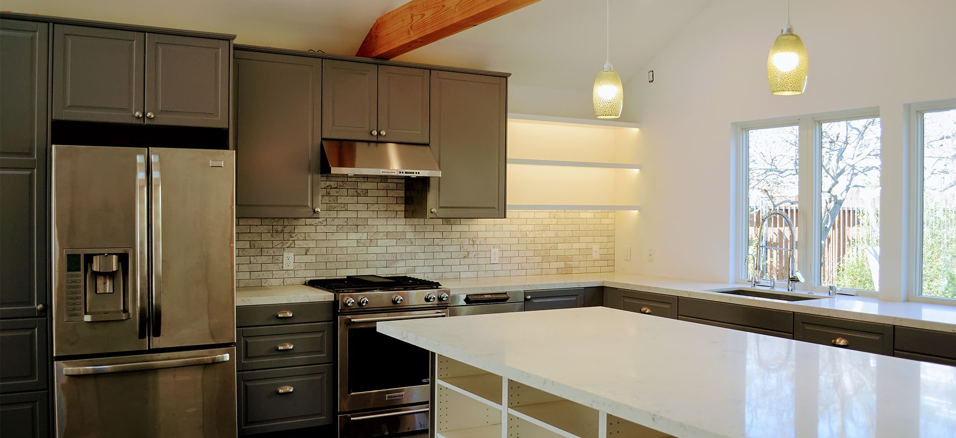 Kitchen Remodel by Luxus Construction