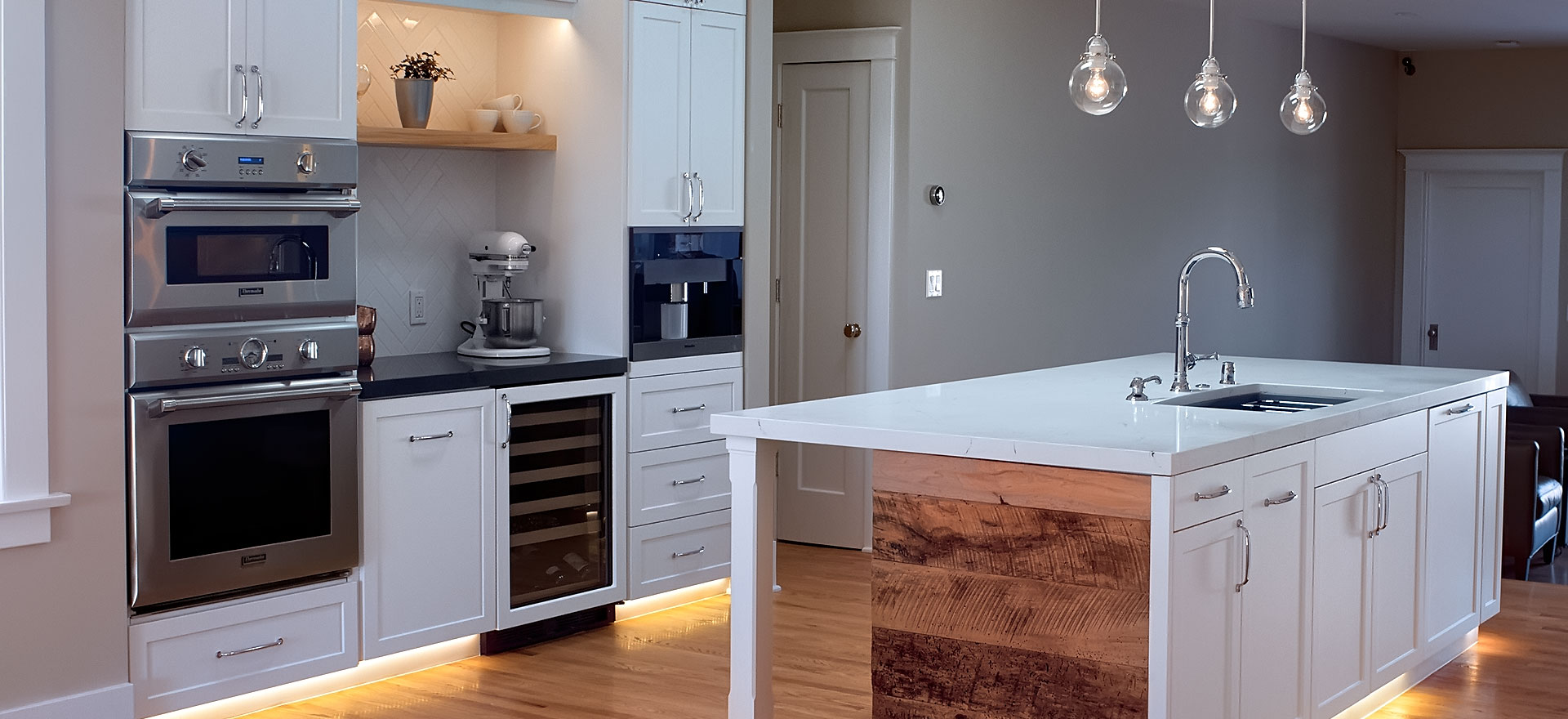 Kitchen Remodel in Mar Vista by Luxus Construction